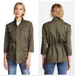 DL1961 Olive Green Beekman Military Jacket M